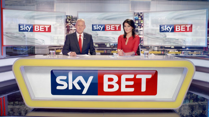 Sky Bet TV stage
