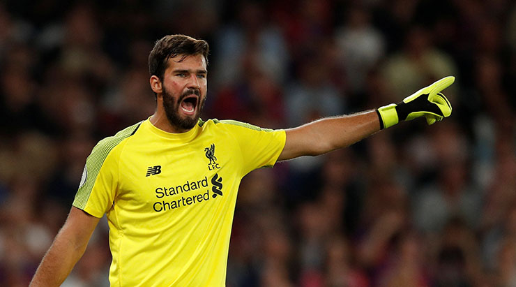 Alisson - Liverpool goalkeeper