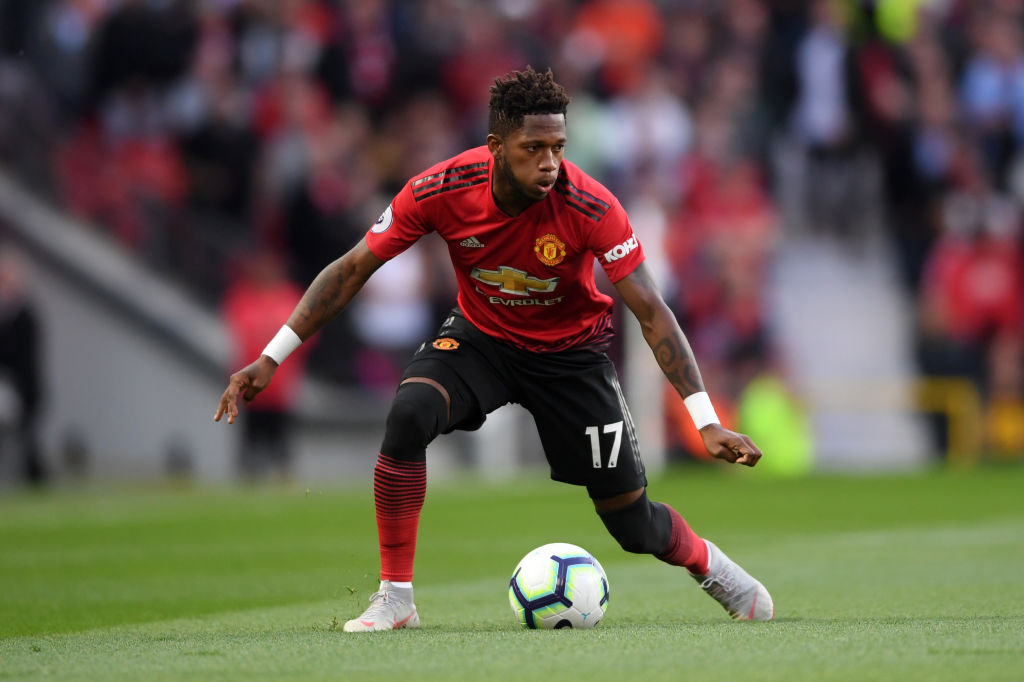 Fred - Manchester United midfielder