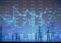 Energy market wallpaper