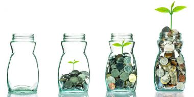 Impact investing money jars
