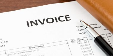Invoice sheet - Management task