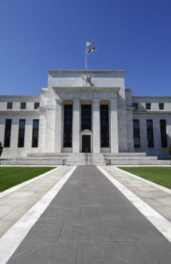 FED - The Federal Reserve System in Washington, USA