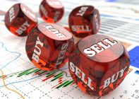 Buy sell dice for the stock market