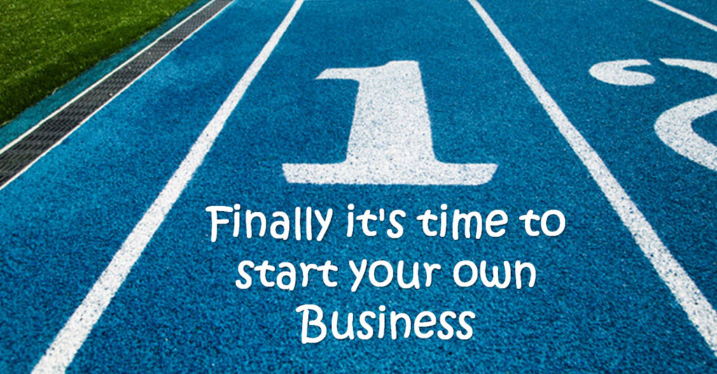 Starting your own business on a running track