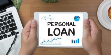 Personal loan analysis on a tablet