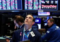 The stock markets react to the Corona-virus effects