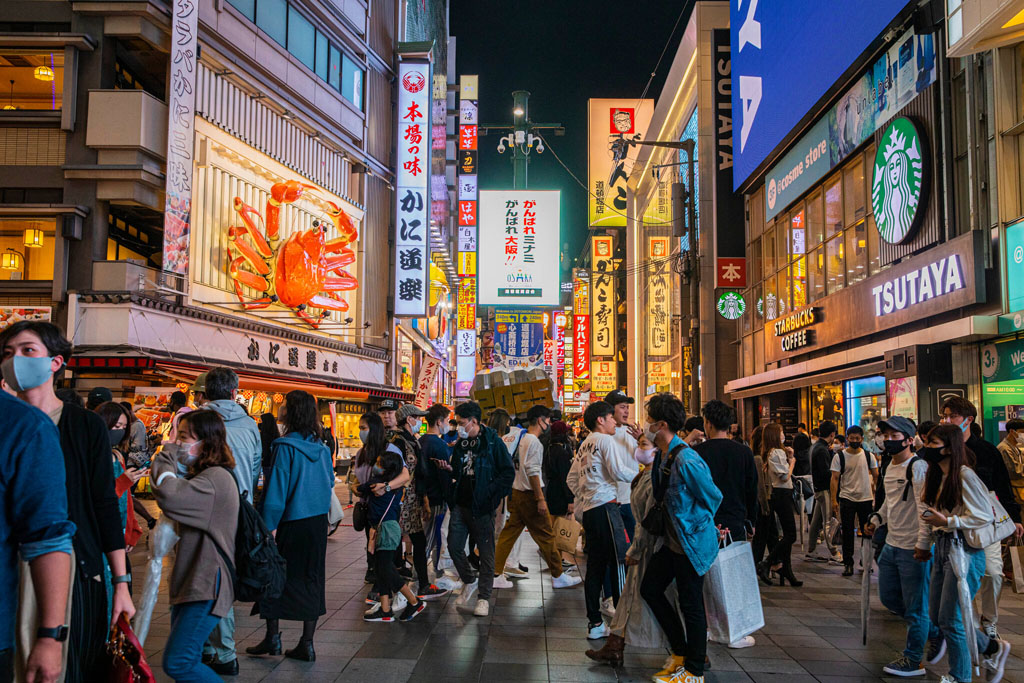 The Japanese economy recovering