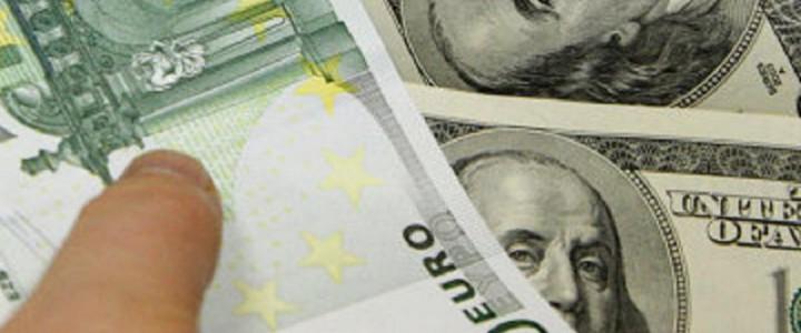 Euro vs Dollar banner and wallpaper