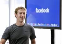 Facebook owner, Mark Zuckerberg in 2013