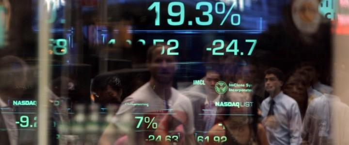 Financial stock markets under stress and fear, wallpaper