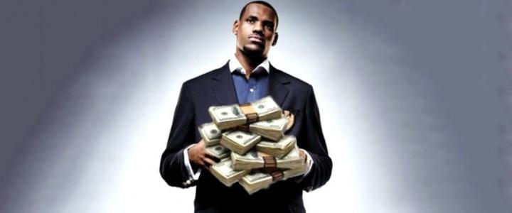 LeBron James is money driven
