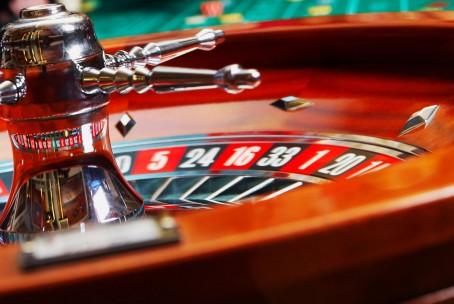 Wallpaper of a casino live roulette