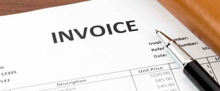Invoice sheet - Management task