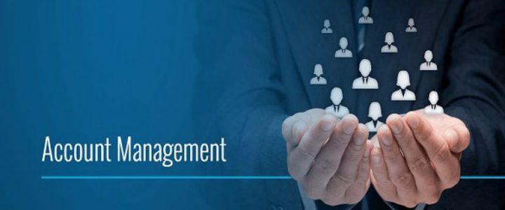 Account management wallpaper