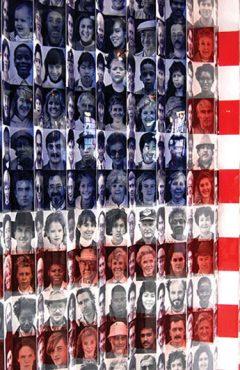 USA flag pattern