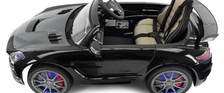 Carbon black SLS AMG Mercedes Benz