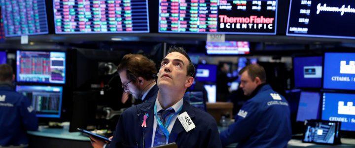 The stock markets react to the Corona-virus effects
